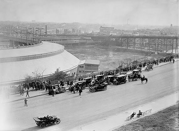 Polo Grounds former home of the Yankees & Giants, 1910