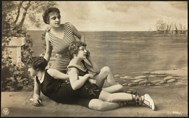 Women's Swimsuit Fashion in Norway, 1920s