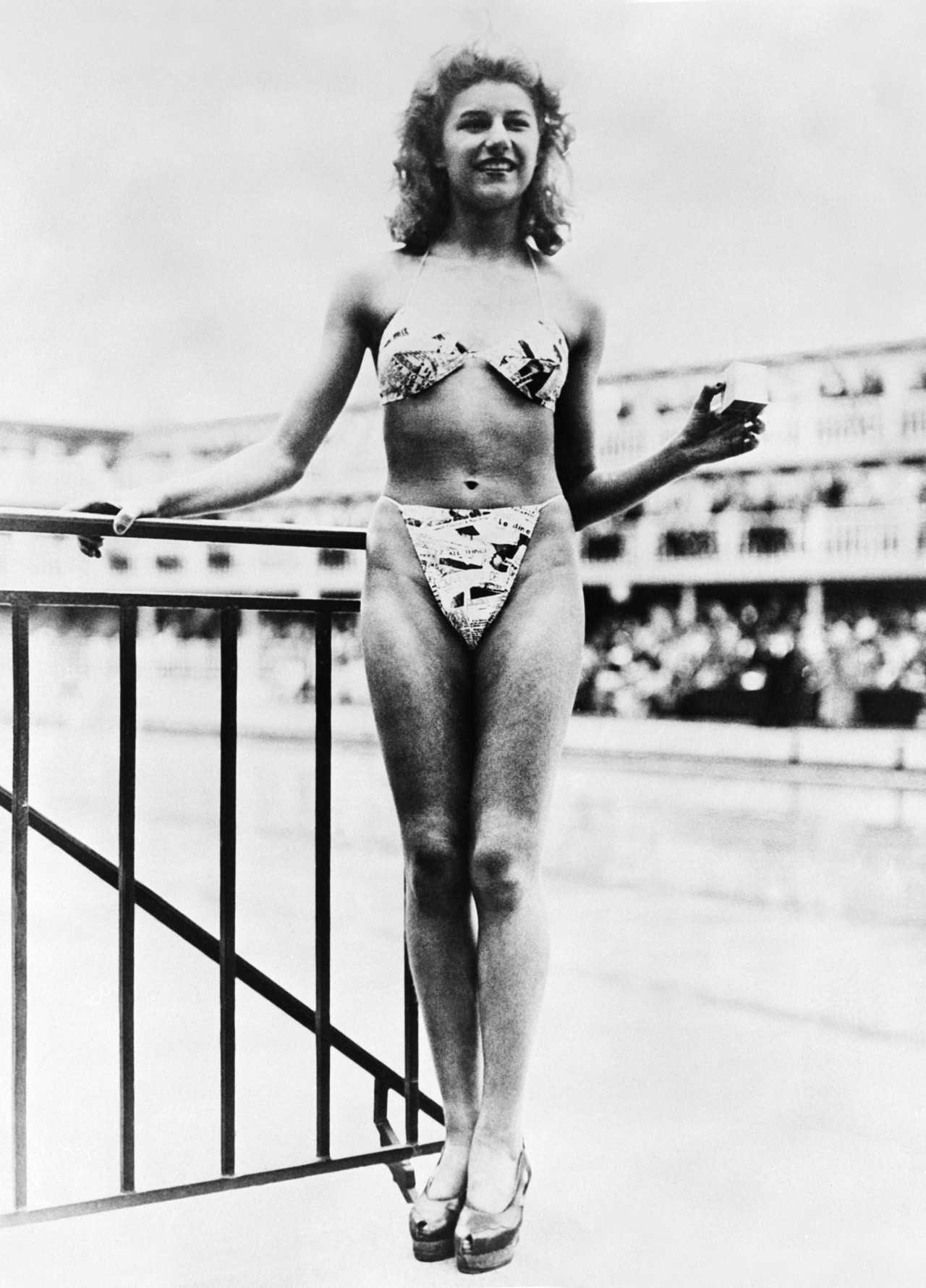 On July 5, 1946, French model Micheline Bernardini wore the bikini for the first time in Paris.