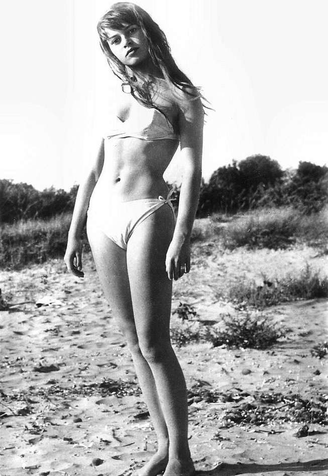 "Brigitte Bardot starred in the 1952 French film ""Manina, the Girl in the Bikini,"" one of the first times the bikini appeared in a movie."
