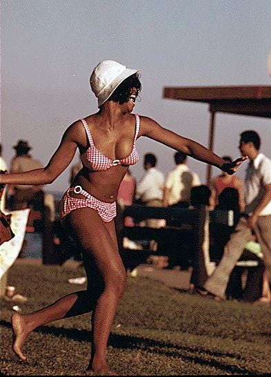 60s is known as hippie's era and its free-love advice suggested that you embrace your body and share it without shame.