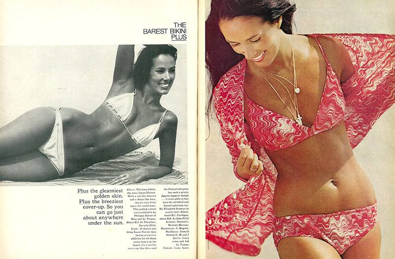 Minds expanded and bikinis shrank in the '1970s