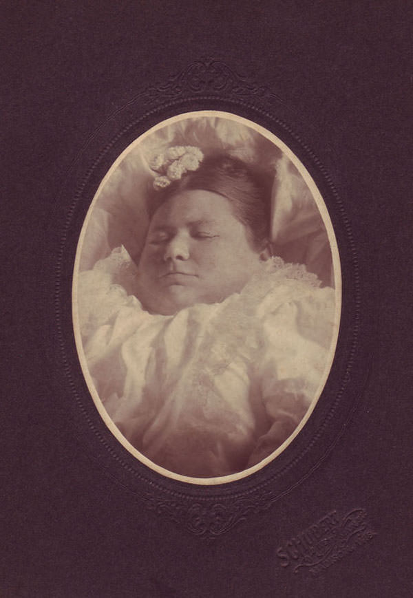 Cabinet cards were made available as photography progressed – multiple copies of the same image could be created and mailed to relatives.