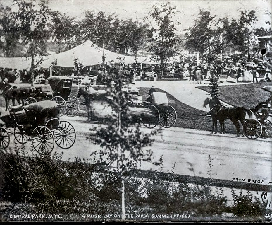 59th Street, Looking West from Grand Army Plaza, 1894