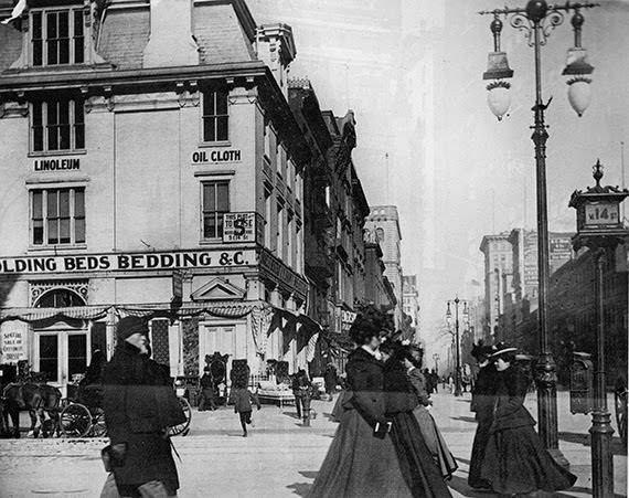 5th Avenue and 14th Street, 1890