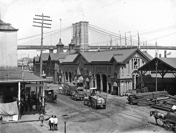 South Street Ferry Building, 1899