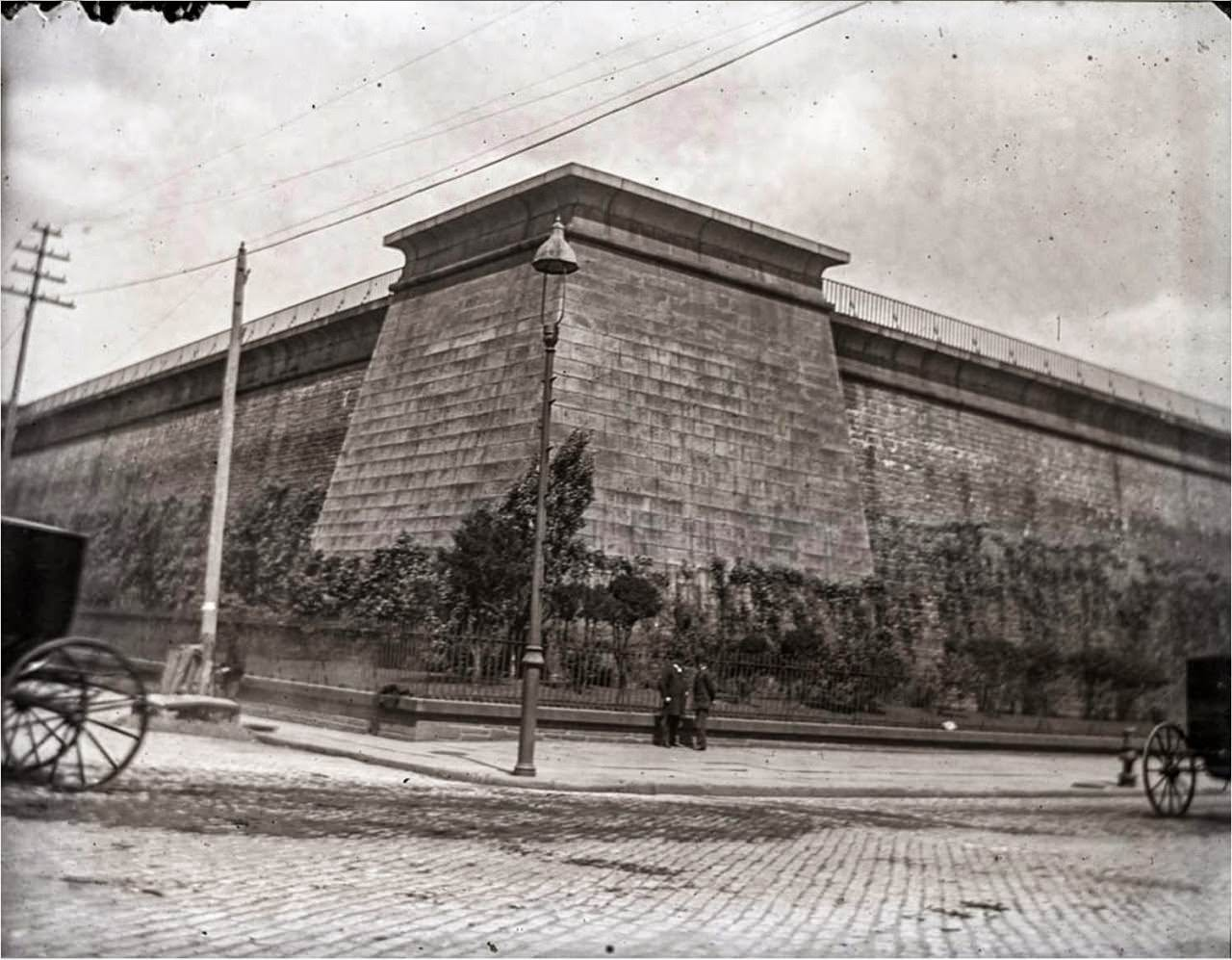 The Croton Aqueduct Distributing Reservoir, 40th Street and 5th Avenue, 1891