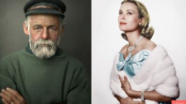 colorized portraits famous personalities