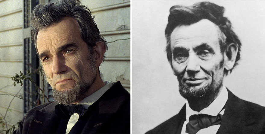 Daniel Day Lewis As Abraham Lincoln In Lincoln 2012 Bygonely