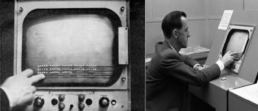 Touch Screens (1965) by EA Johnson