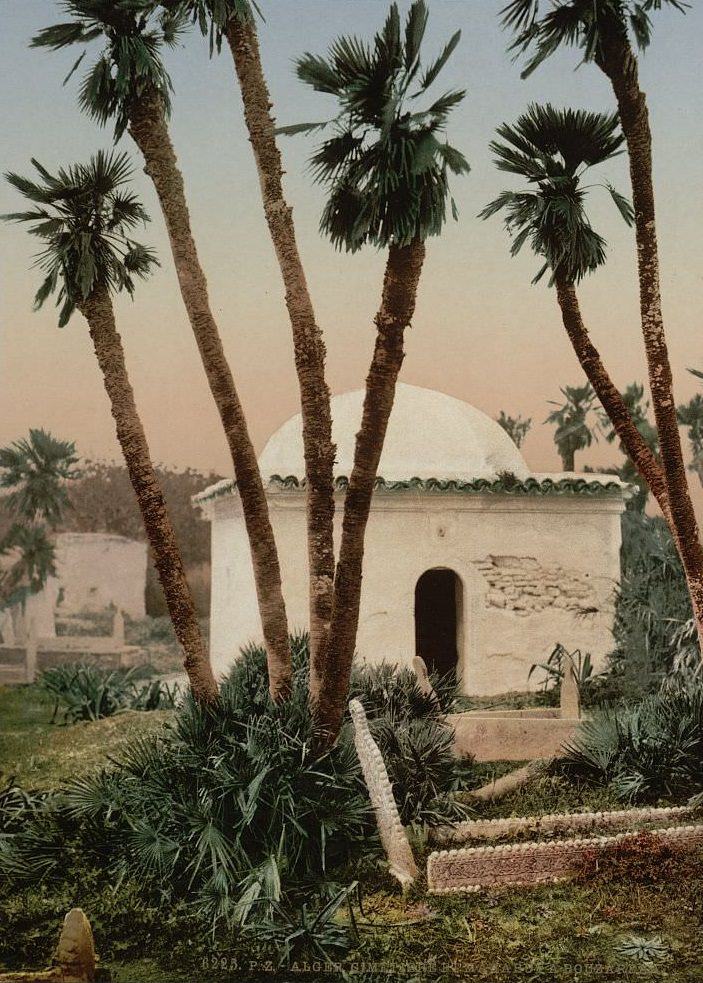 The cemetery, with chapel, Algiers, Algeria