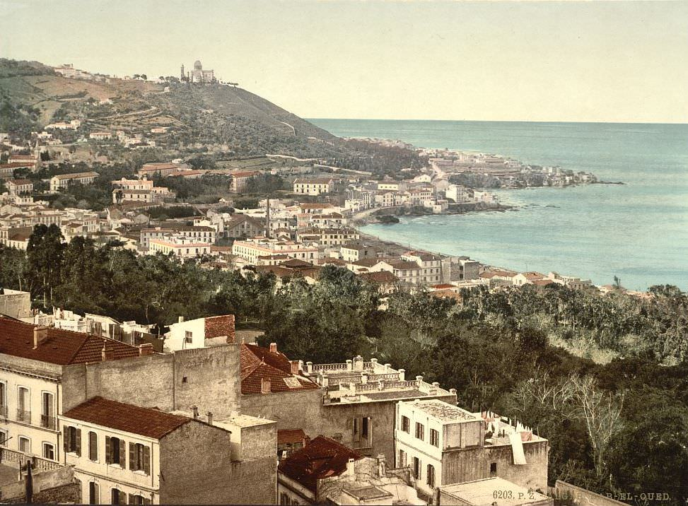 Babel-Oued from Casbah, Algiers, Algeria