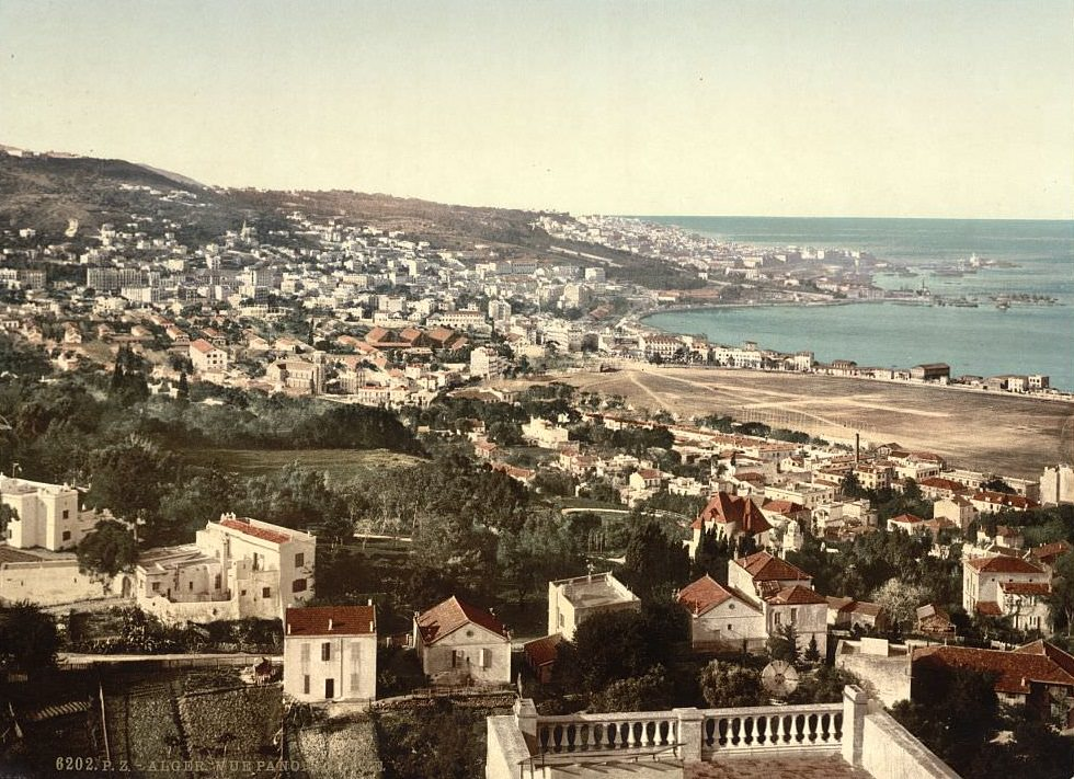 General view from Mustapha, I, Algiers, Algeria