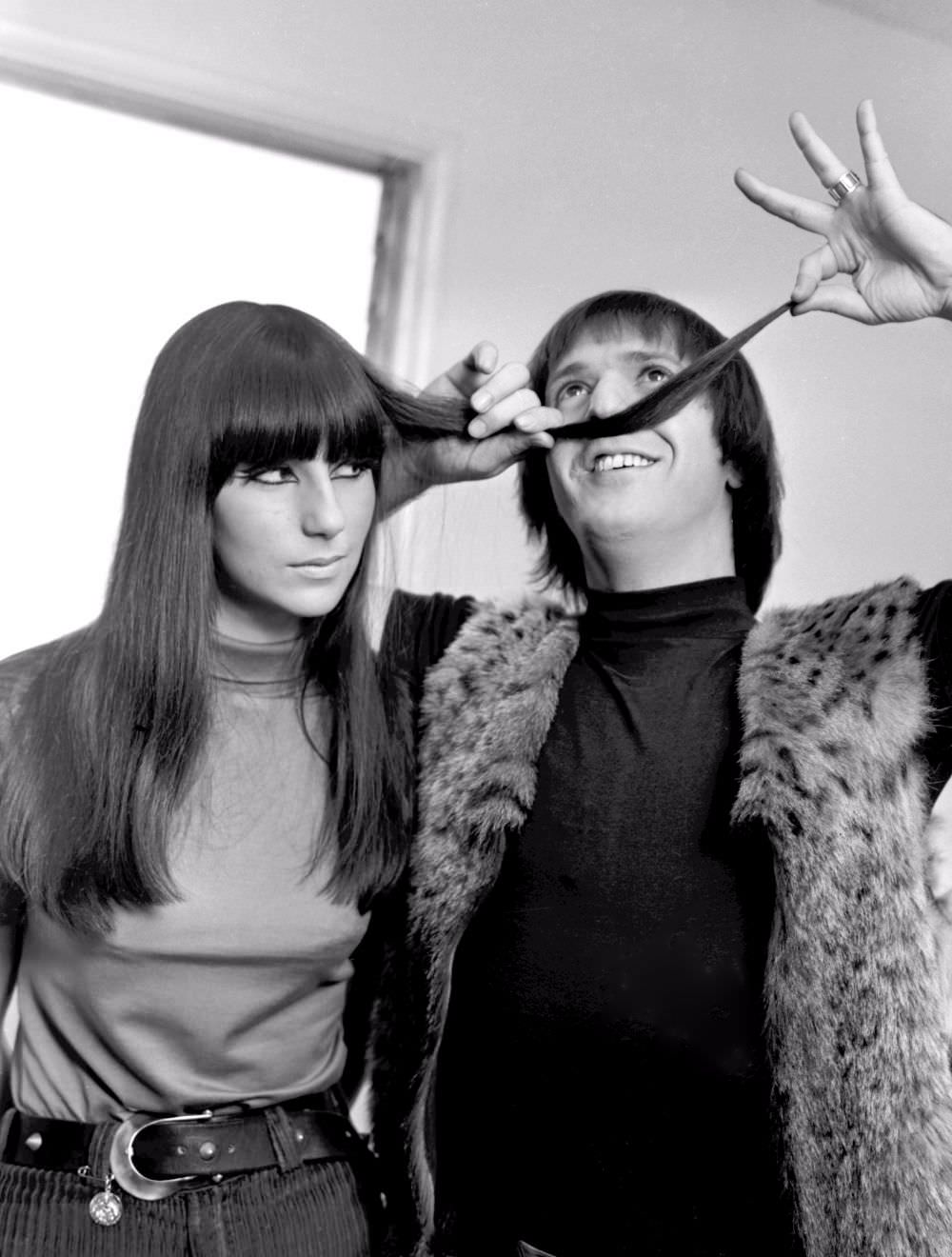 Long Layers With Bangs, 1965