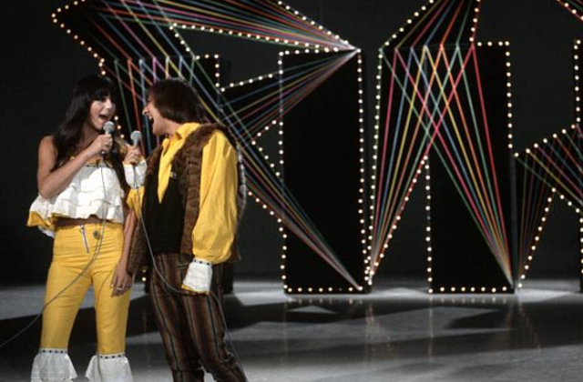 Sonny and Cher and The Lovin' Spoonful on the NBC TV music show 'Hullabaloo' on September 13, 1965 in New York City