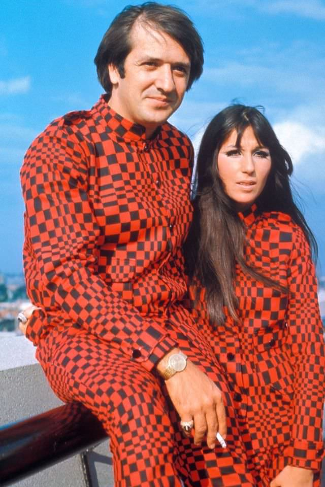 Sonny and Cher in Germany, 1966