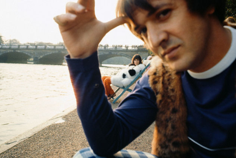 Sonny and Cher in Paris, 1966