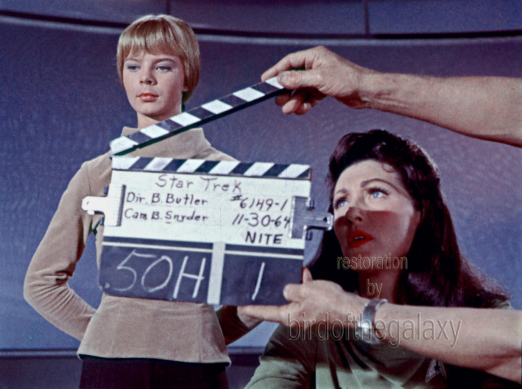 A very early clapper from what I believe is the second day of filming for The Cage in 1964.