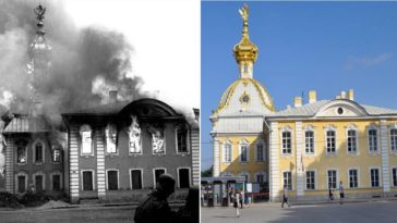 Before After Europe WWII