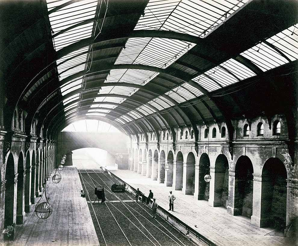 Bayswater Station, just after completion