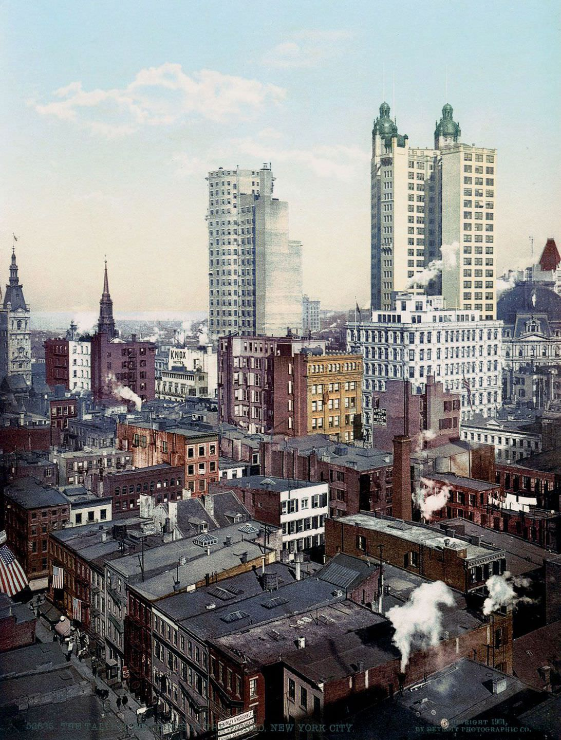 The Tallest Buildings in the World, 1900