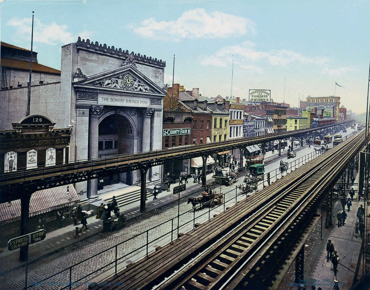 The Bowery, 1900