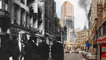 1906 earthquake then and now Sanfrancisco