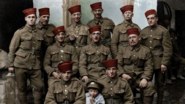 British Soldiers in Battle of Somme