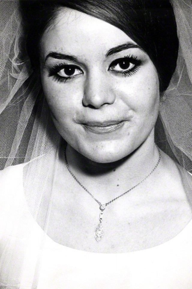 Frances Shea on her wedding day, April 20th, 1965