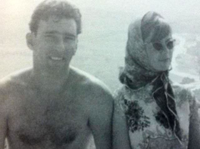 Frances Shea and Gangster Reggie Kray On Their Honeymoon In Greece, 1965