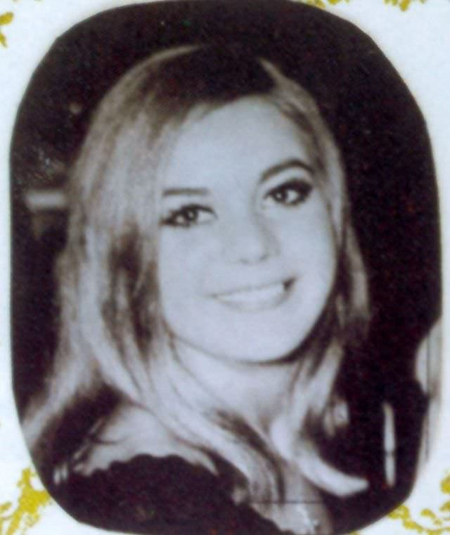 The funeral card photo of Frances Shea, 1967