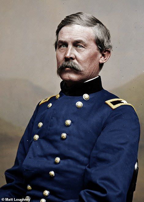 Brigadier General (Promoted to Major General on his Deathbed in 1863) John Buford, Prominent in the Battle of Gettysburg