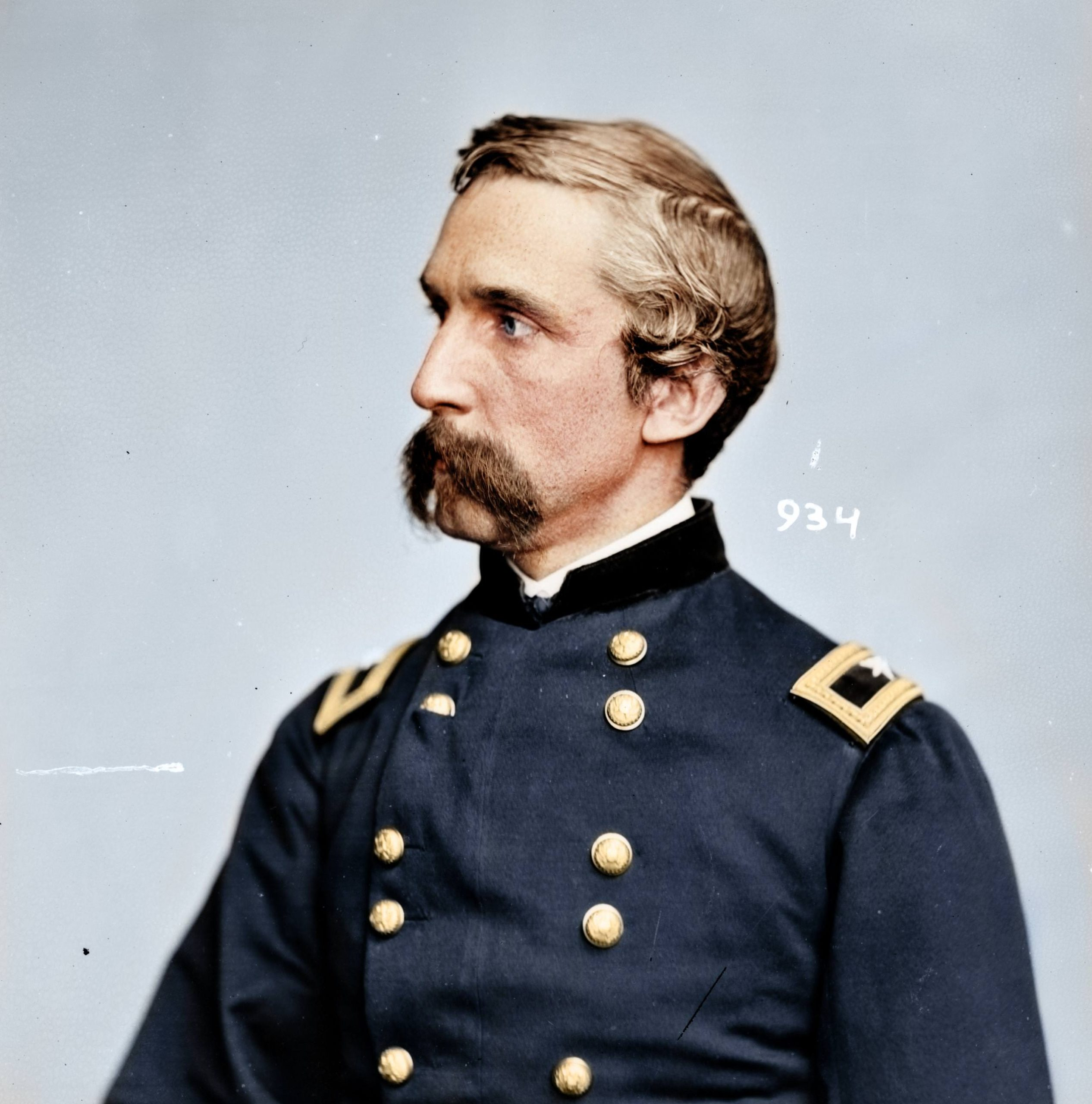 Joshua Lawrence Chamberlain, Brevet Major General during the American Civil War, and was a college professor both before, and after the war - received a Medal of Honor for gallantry at the Battle of Gettysburg, 1865