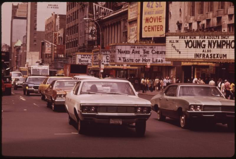 Time square, 70s.