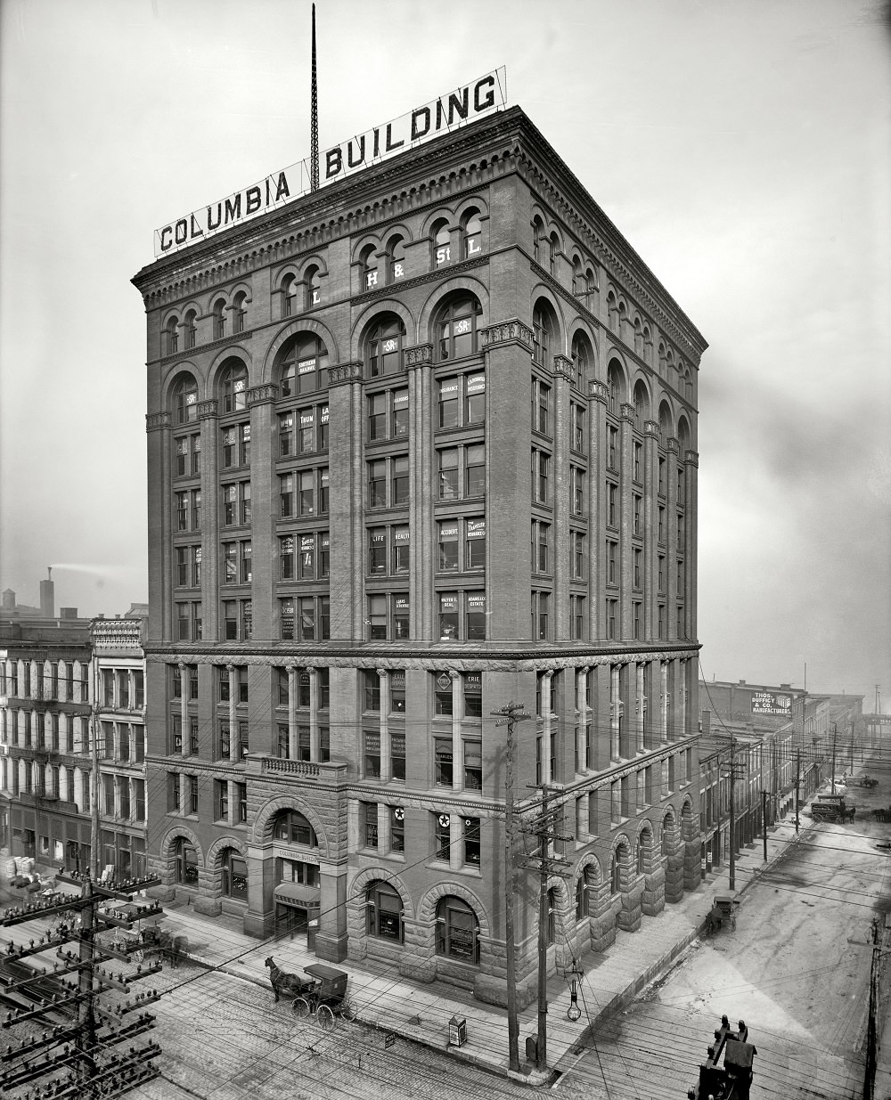 Columbia Building, Fourth and Main, Louisville, 1906