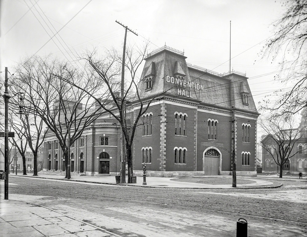 Convention Hall, Rochester, N.Y, 1908