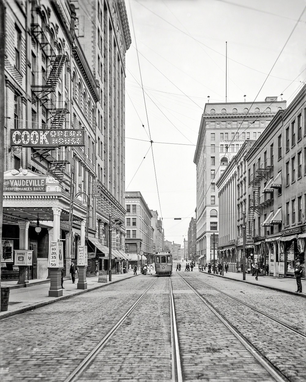 South Avenue,  Rochester, New York, 1906