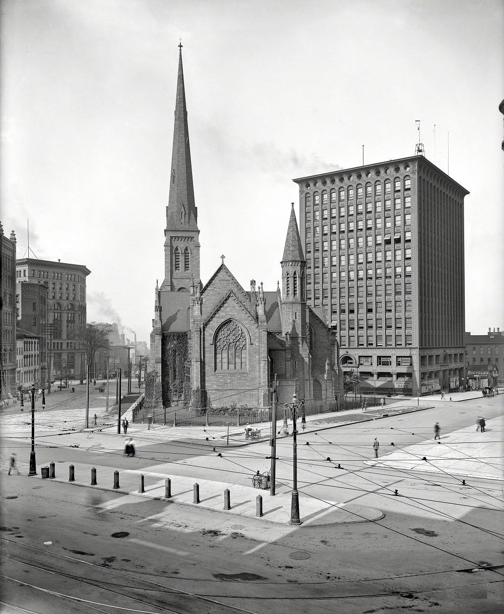 St. Paul's Episcopal Cathedral, Buffalo, New York ,1900
