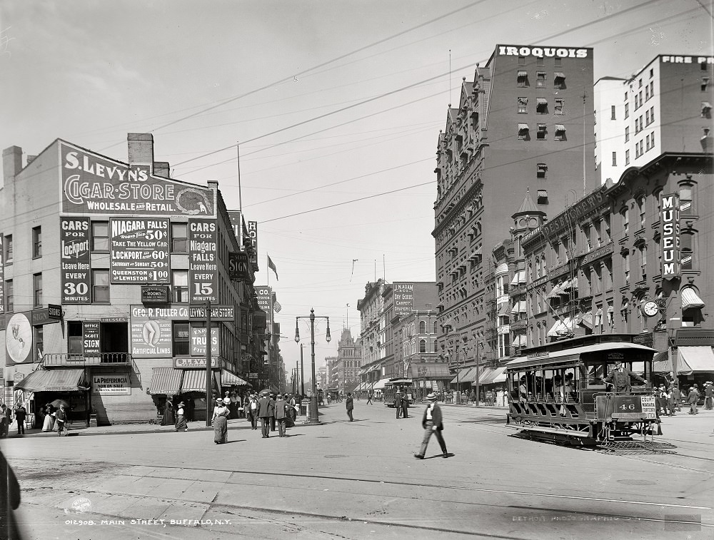 The merchants of Buffalo, aside from making that fine city a haven for the herniated, circa 1900