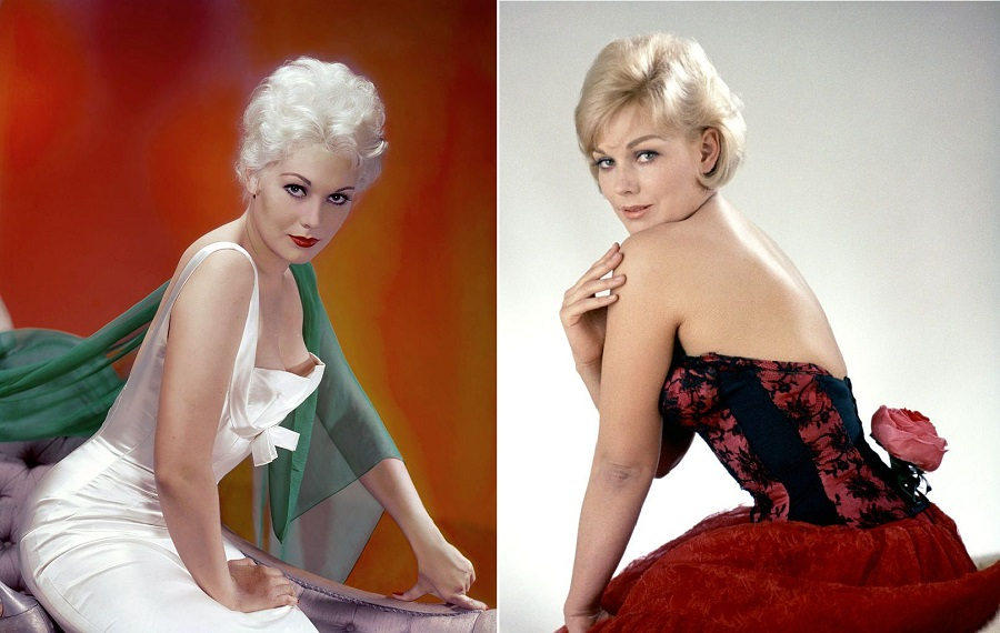 Glamorous Photos Of Young Kim Novak From 1950s and 1960s