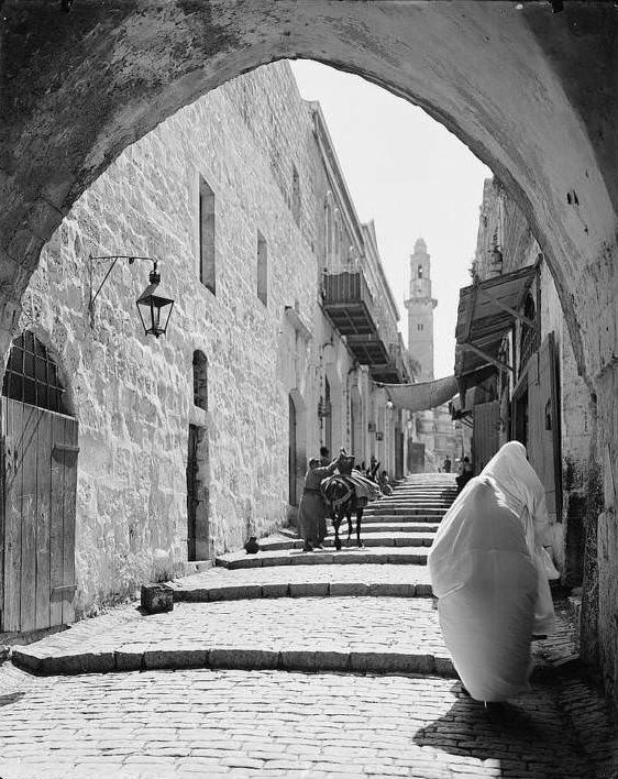 The street of arches, Circa 1898-1914