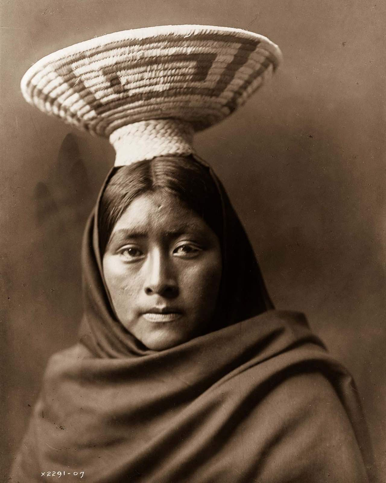 Luzi, of the Papago tribe. 1907.