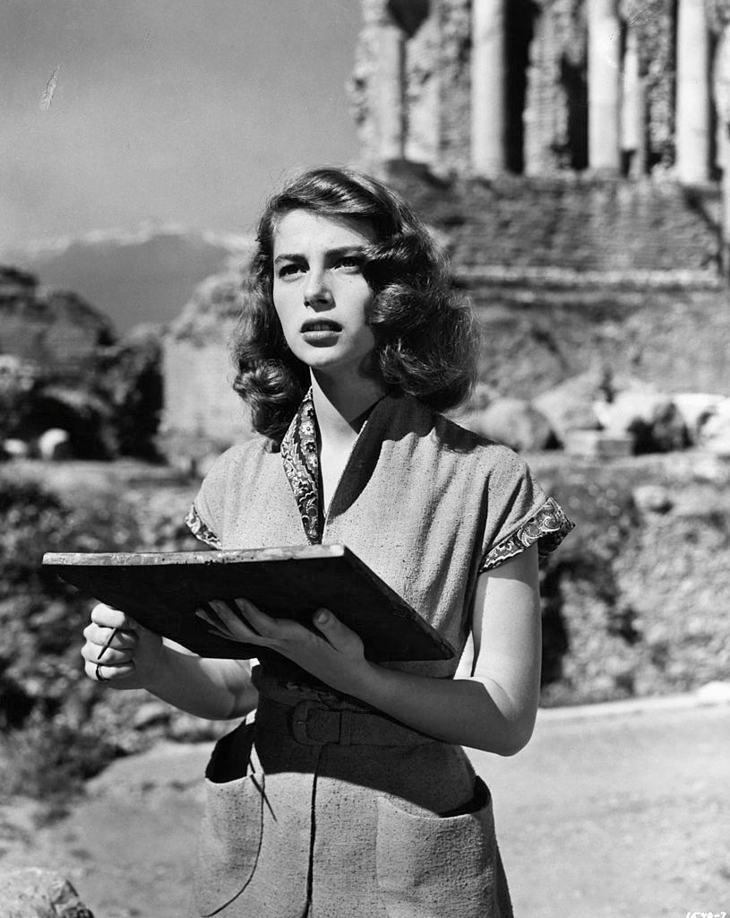 Pier Angeli in a scene from the film 'The Light Touch', 1952