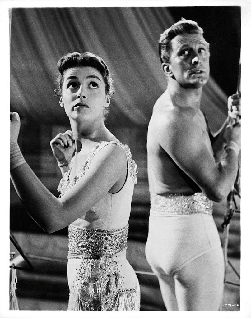 Pier Angeli with Kirk Douglas in 'The Story Of Three Loves', 1953