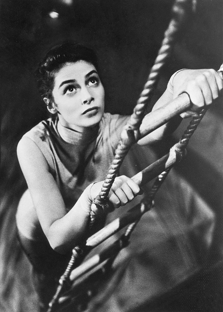Pier Angeli from the movie 'The Story of Three Loves'', 1953