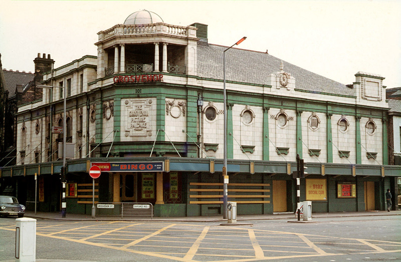 The Grosvenor Picture Palace at All Saints photographed when occupied by the Star Bingo and Social Club, circa 1971. The building is now The Footage pub.