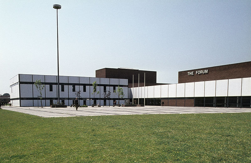 The Forum at Wythenshawe civic centre in 1975