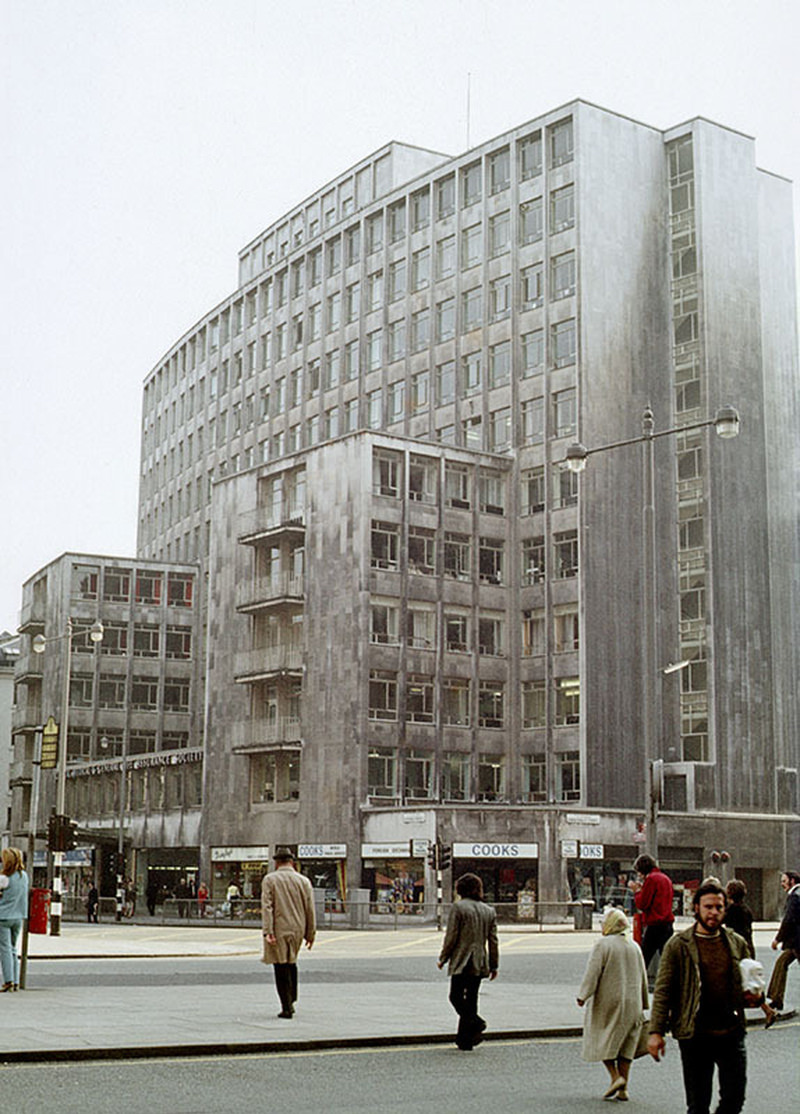 Peter House on Oxford Street/St Peter's Square in 1972