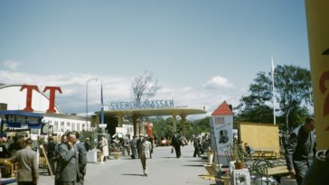 Dazzling Kodachrome Photos Show Sweden In The 1940s