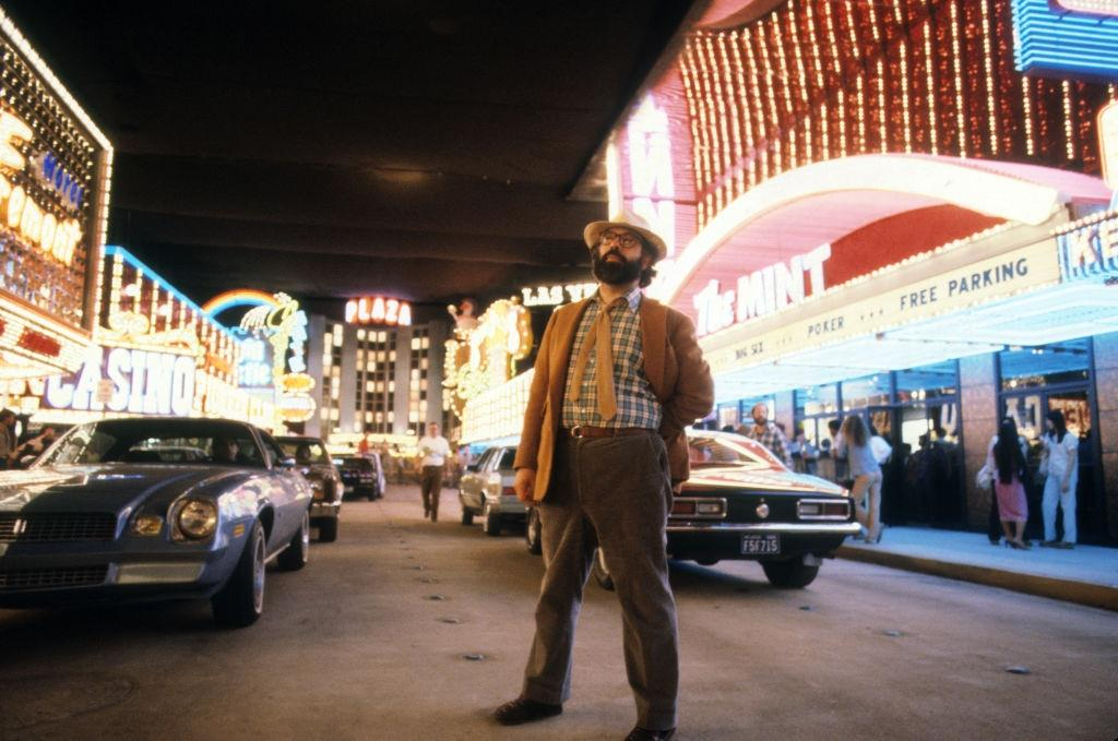 Director Francis Ford Coppola in Las Vegas, 1981.